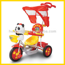 baby ride on cars with push handle cartoon 3 wheel trike children tricycle with music and tent