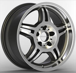 China Manufacturers polished aftermarket alloy wheels (ZW-P657)