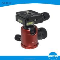 "1/4"" Mini Ballhead Camera Ball Head Tripod Mount w/ Cold Shoe For DSLR Camera"