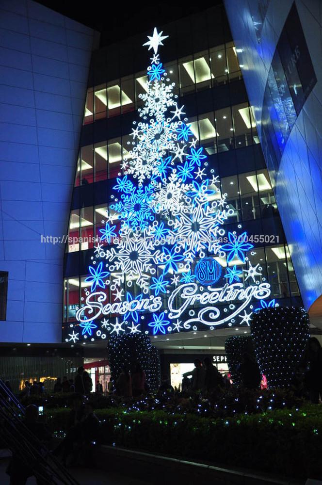 Luz de de arbol de navidad del led para la decoraci n exterior - Arbol de navidad exterior ...