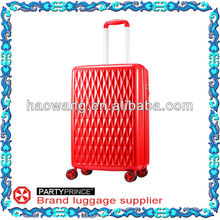 2013 new fashionable with ABS+PC composite material lady hand luggage