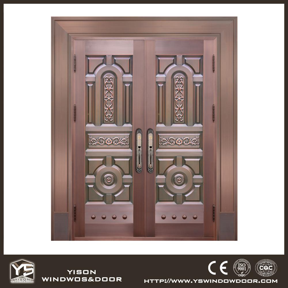 High Quality Bronz Exterior Door Villa Copper Entry Door Main Door Buy Copp