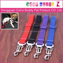 Manufacturer Wholesale 100% Pure Nylon Pet Dog Car Safety Seat Belt Outdoor Traveling for Dog