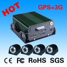 Factory Direct 4 channel 3g gps mobile dvr
