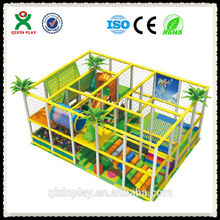 Los niños de interior equipo de juego para la venta/de interior del patio de preescolar equipo( qx- 107c)