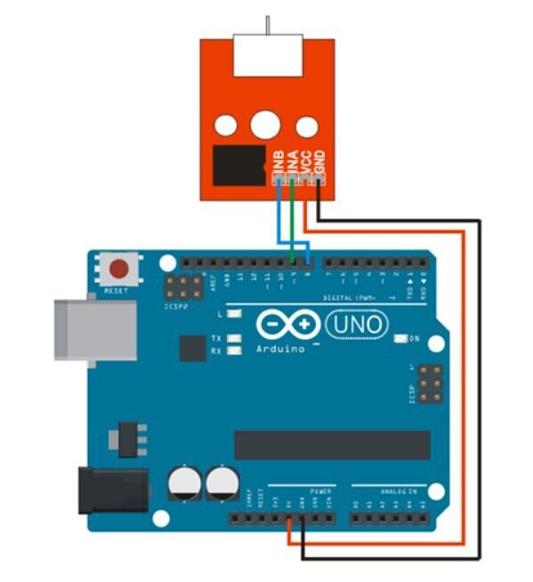 Pcs lot l fan module for arduino fire fighting robot
