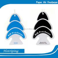 Promotion MSDS hanging car air freshener perfume luxury air freshener paper promote gift printing oem freshener