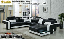 cheap price recliner sofa furniture guangzhou for sale leather sofa for big house u shape living room leather sofa