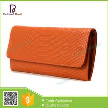 New model environmental lady high quality leather wallet