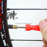 red color plastic color Tire Valve Core Tool/Tire Repair Tool Valve Core Tool for tire