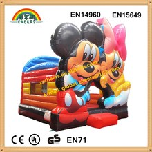 Indoor and outdoor inflatable bounce house inflatable mini jumpers for kids