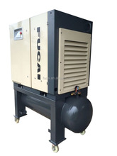 30HP 8/10/13 bar 300 L air tank two in one integrated sand blasting screw compressor