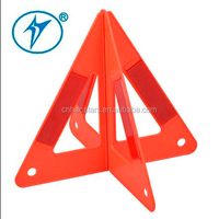 reflector safety triangle road signal with e-mark