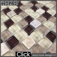 Glass stone crystal glass mosaico de pedra