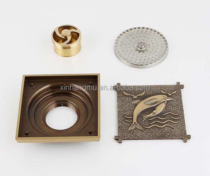 Bathroom Floor Drain Types : Popular new types of shower antique anti odor brass floor