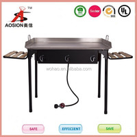 American style bbq wood pallet outdoor camping stove