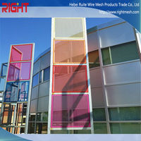 Attractive appearance Perforated metal / perforated metal for building material / decorative screen