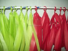 Rainbow Handmade Hanging Tissue Tassel Garland for baby shower decoration