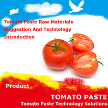 Tomato Paste used food processing equipment ingredients inform you the tomato paste technology processing and Formula