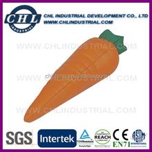 Promotional anti PU stress carrot