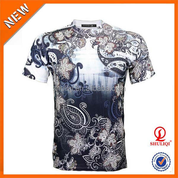 Sublimation cotton poly t shirts print your own t shirt for Printing your own t shirts