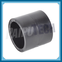 Plastic Plumbing Fittings Socket HDPE Coupler Joint Connector 75mm