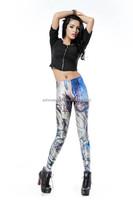 2015 Fantasy wholesale 3D digital printed fitness Leggings DK192/Sexy leggings fabric for woman