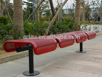FS51 Super Long Flat Chair Airport Usage Steel Bench