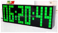 Big LED Digital Alarm Clock Backlight Countdown Bedroom Clocks Temperature Calendar Decoration Clock