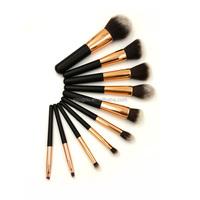 mask makeup brush synthetic hair brush set 10pcs kabuki brush