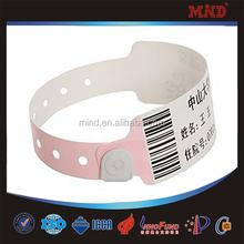 MDW155 Hospital id wristband/bracelets/hospital id bands