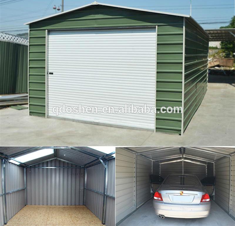 Garaje de metal caseta de jard n de metal cobertizo de - Caseta de metal ...