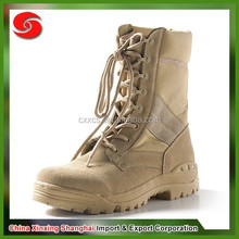 New genuine leather anti-stayic waterproof desert coyote military boot