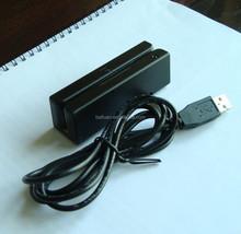 USB 3 Tracks Magnetic Stripe Card Reader MSR 90