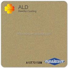 ALD gold metallic powder paint