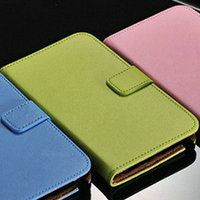 Original Design Genuine Leather Flip Case Cover for Samsung Note 3