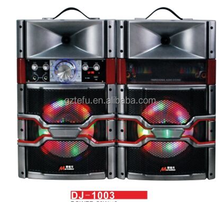 5 Inch piezo horn,Diso Light Professional Active Stage Speaker With USB/SD/MMC/FM/BT in the 118th Canton Fair