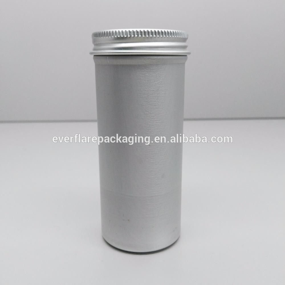 Embalagem De Metal 100 Ml De Lata De Alumínio Com Tampa De Rosca