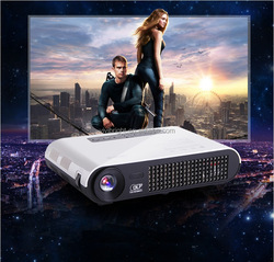 vivibright 4K Projector,Smart Android4.4 Portable Projector,Bluetooth,Wireless push WIFI led beamer,your private cinema 1280*800