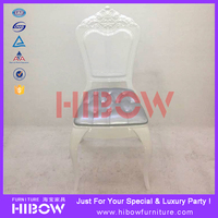 luxury polycarbonate glossy white throne chair for sale