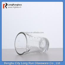 LongRun 2015 high white 1.8 oz glass measuring cup drinking glass shot