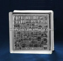 New Arrival Mosaic Clear Glass Block