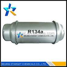 99.9% pureté réfrigérant R134a prix du gaz pour l'industrie automobile