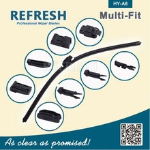 Patented Bosch Aero Twin REFRESH MULITFIT 10 ADAPTERS WIPER BLADE WITH BEST WIPER BLADE TEST RESULT