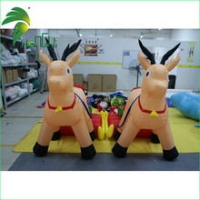 2015 hot sale christmas inflatable deer for advertising