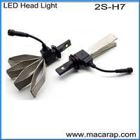MACAR 2015 high power 50w 3600 lumen h7 led headlight for BMW