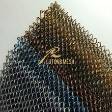 Cheap Metal coil drapery curtain mesh decorative