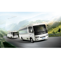 FDG Long River / Changjiang Branded Electric Vehicle Hybrid Commercial Passenger Mid-Size Bus