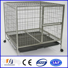 Lowest price Hot-dipped galvanized welded wire mesh dog cage (factory)