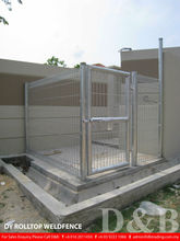 DY Rolltop Weldfence as Kennel